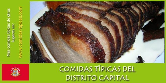 Comidas típicas del Distrito Capital (Venezuela)