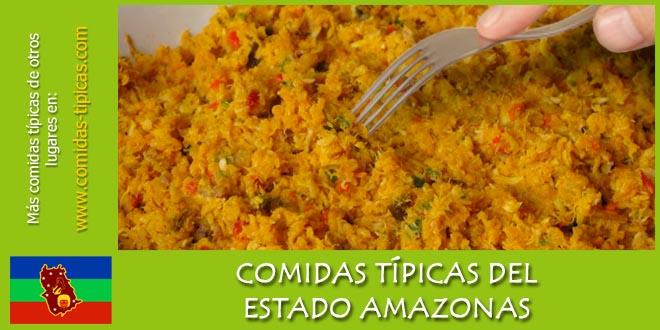 Comidas típicas del estado Amazonas (Venezuela)