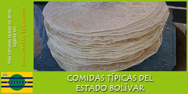 Comida típica del estado Bolívar (Venezuela)