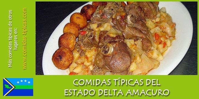 Comidas típicas del estado Delta Amacuro (Venezuela)