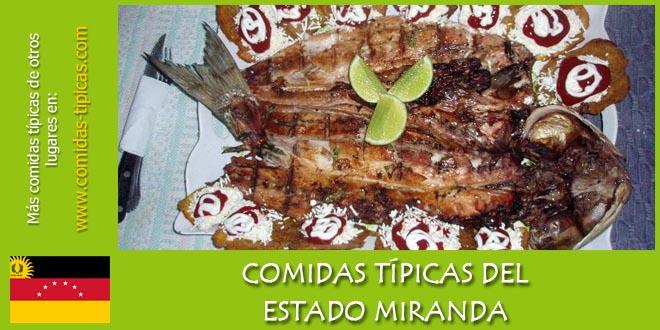 Comidas típicas del estado Miranda (Venezuela)
