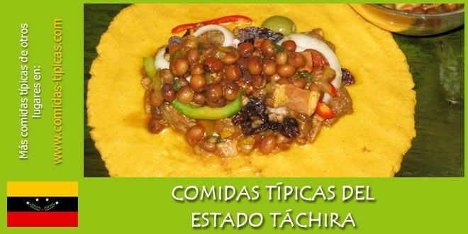Comidas típicas del estado Táchira (Venezuela)