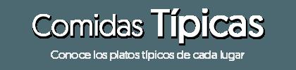 Logo Comidas Típicas