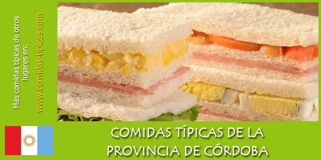Comidas típicas de Córdoba (Argentina)