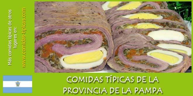 Comidas típicas de La Pampa (Argentina)