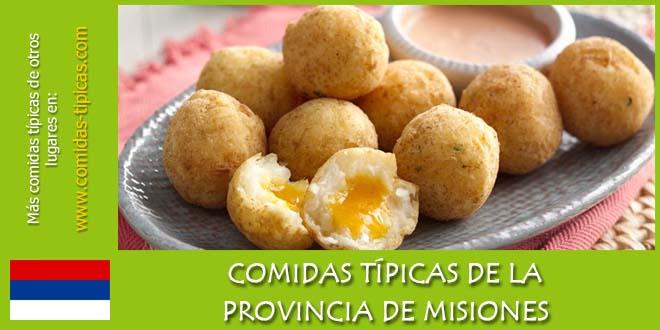Comidas típicas de Misiones (Argentina)