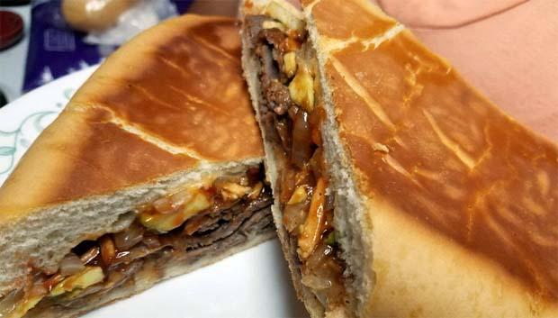 Sanwich de Bistec