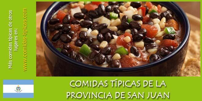 Comidas típicas de San Juan (Argentina)