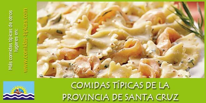 Comidas típicas de Santa Cruz (Argentina)