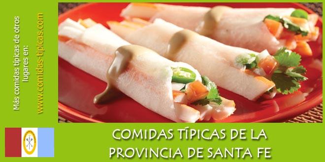 Comidas típicas de Santa Fe (Argentina)