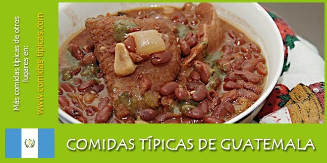 Comidas típicas de Guatemala