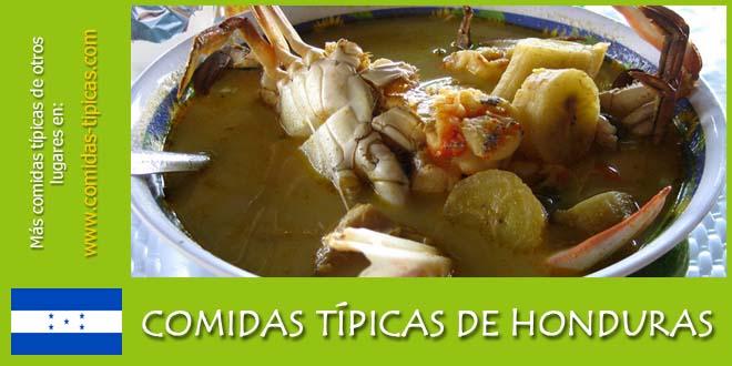 Comidas típicas de Honduras