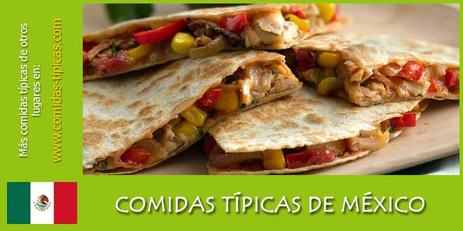 Comidas típicas de México