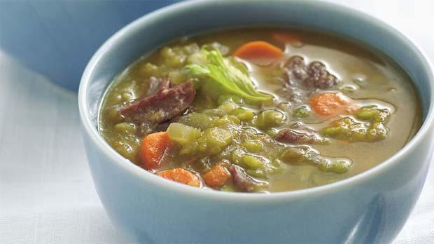 Sopa Criolla con Guisantes