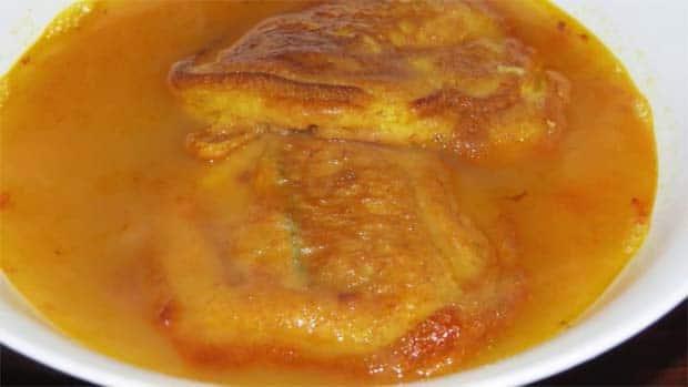 Tortas de pescado