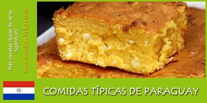 Comidas típicas de Paraguay
