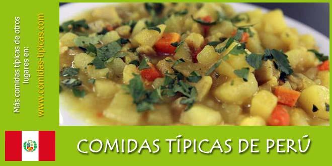 Comidas típicas de Perú