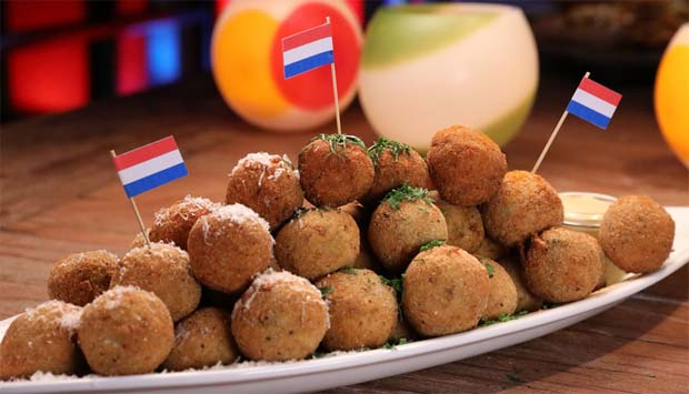 Croquetas holandesas