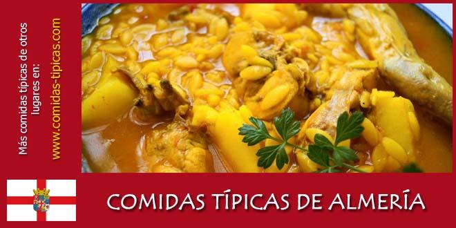 Comidas típicas de Almería (España)