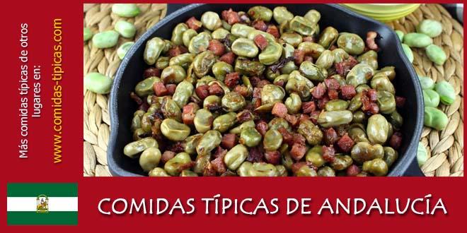 Comidas típicas de Andalucía (España)