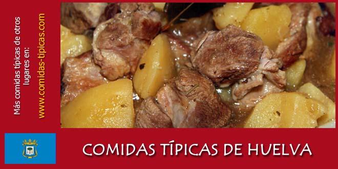Comidas típicas de Huelva (España)