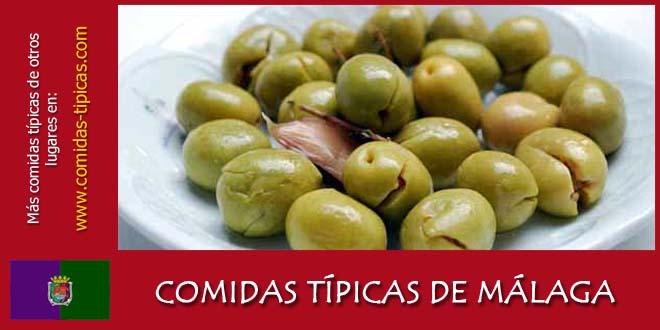 Comidas típicas de Málaga (España)