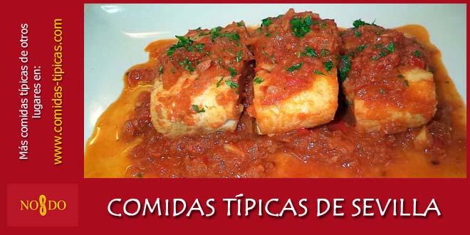 Comidas típicas de Sevilla (España)