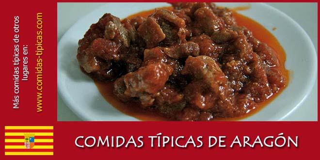 Comidas típicas de Aragón (España)