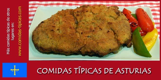 Comidas típicas de Asturias (España)