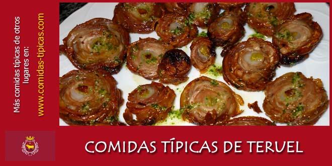 Comidas típicas de Teruel (España)
