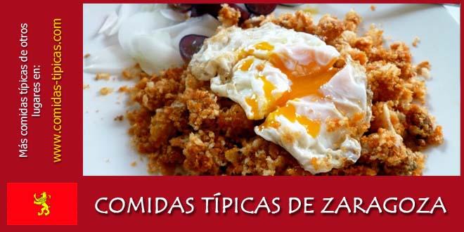 Comidas típicas de Zaragoza (España)